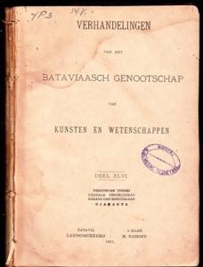 Verbeek 1891 Inab
