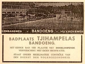 Iklan Badplaats Tjihampelas Bandoeng koleksi @mooibandoeng
