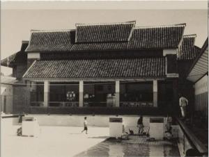 Kolam renang Centrum koleksi Tropen Museum.