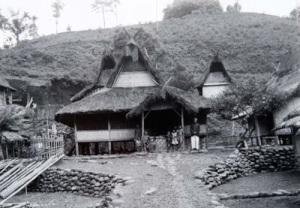 Kampung Naga tahun 1925. Koleksi Tropen Museum.
