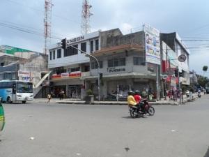 Lokasi bekas Pondok Dar-Oes-Salam tidak menyisakan jejak sejarahnya.