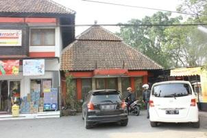 Salah satu sisa bangunan rumah karya Sukarno di Bandung.